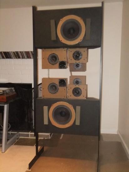 Vintage Hifi Club Dahlquist Dq 10 Loudspeaker Vintage