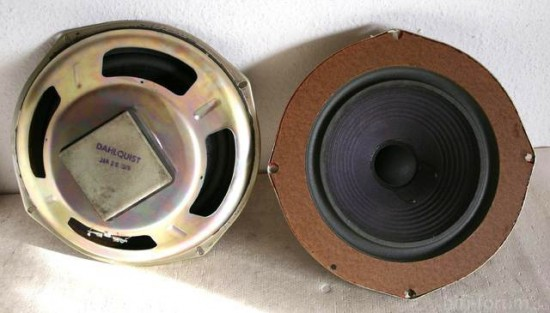 DAHLQUIST DQ 10  woofer