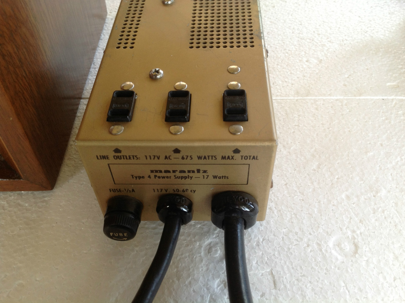 marantz model one power