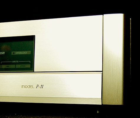 Accuphase C 11 + P 11 front particolare