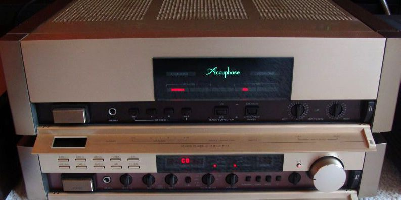 Accuphase C 11 + P 11 front