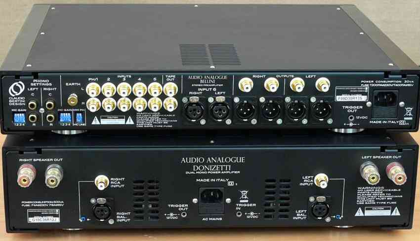 Audio Analogue back 6