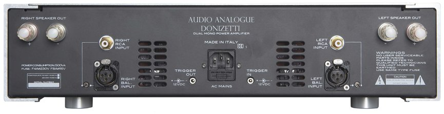 Audio Analogue donizzetti back