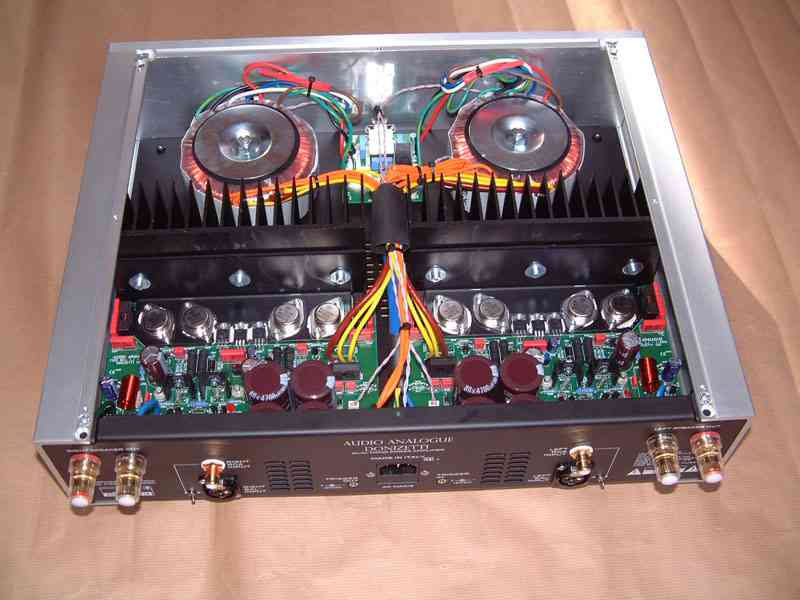 Audio Analogue donizzetti inside