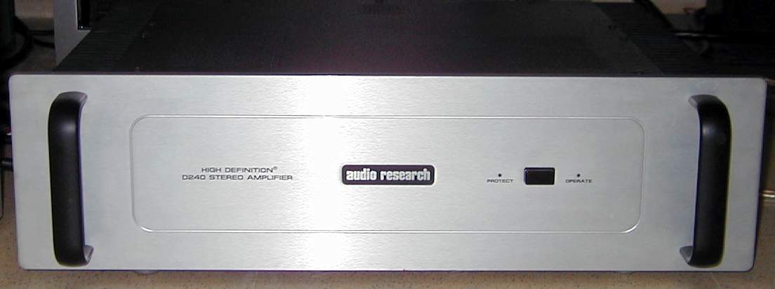Audio Research D240MK2 front