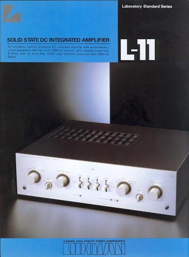 Luxman L 11 Apertura