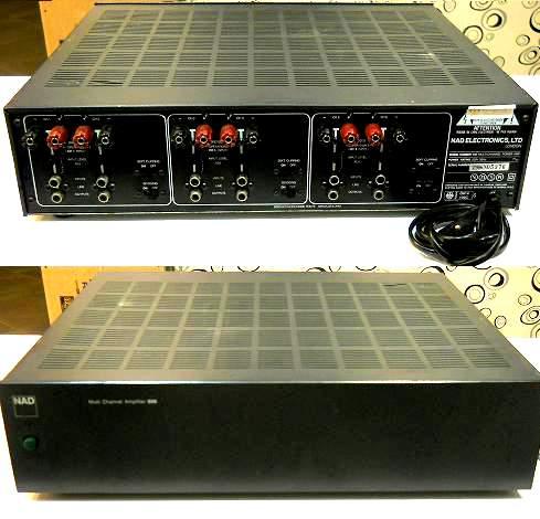 NAD 906 front back