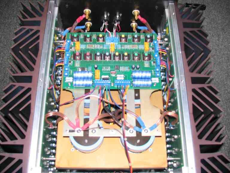 Pass Labs X350 inside 2