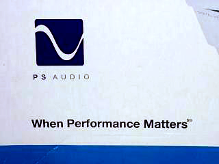 Ps Audio modello Trio A logo