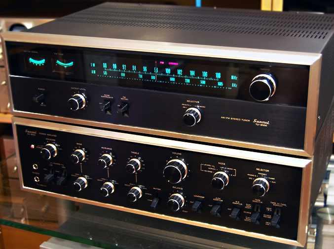 Sansui 9500 + tuner9