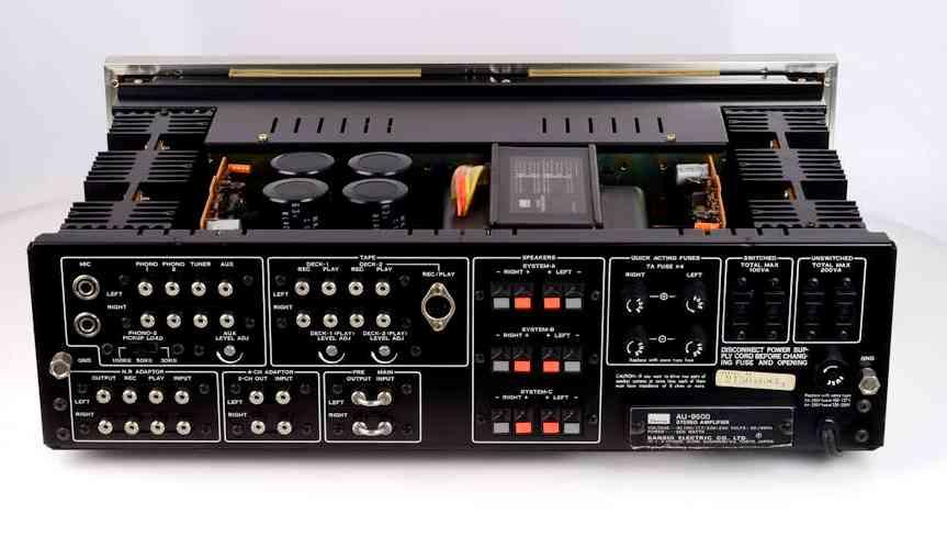 Sansui 9500 back 8
