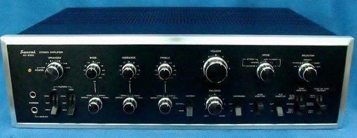 Sansui 9500 front apertura