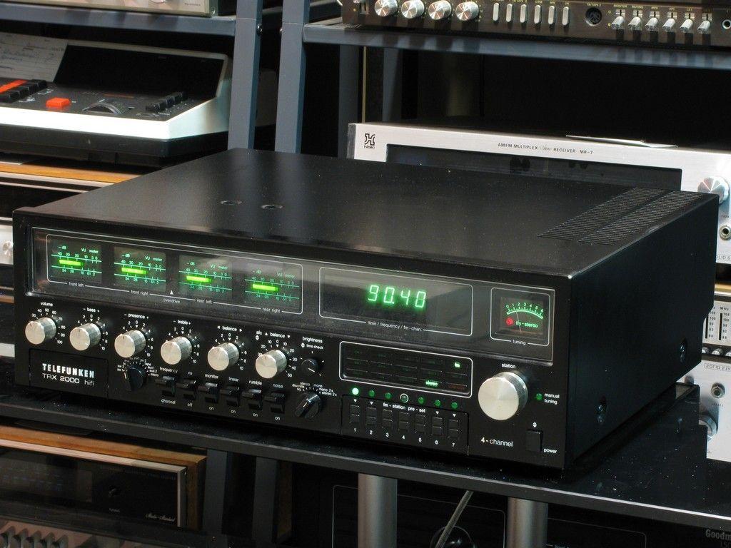 Telefunken Receiver trx 2000 2