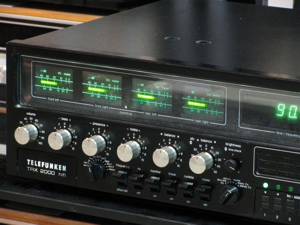 Telefunken Receiver trx 2000 3