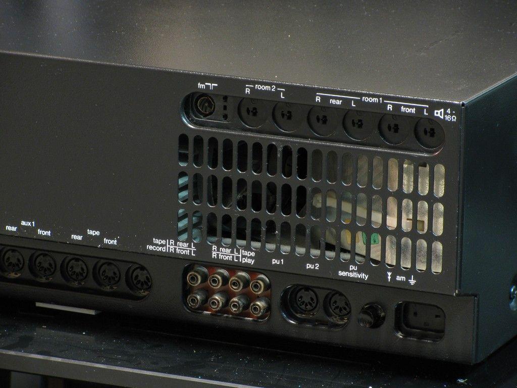 Telefunken Receiver trx 2000 back