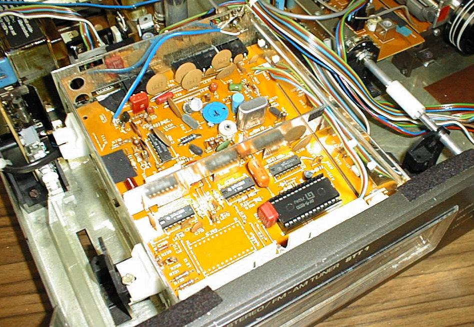 Telefunken Receiver trx 2000 inside 2