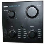 B & W Passive unit control