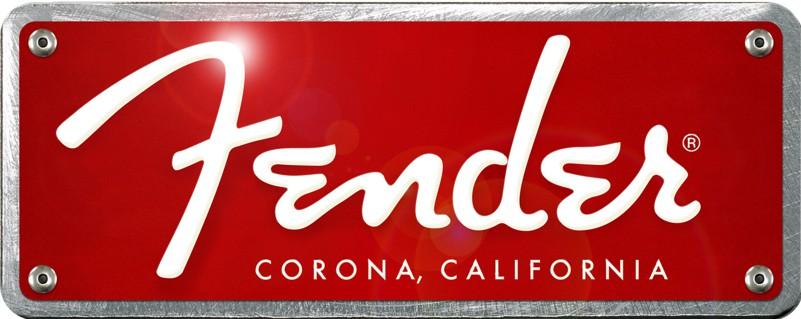Fender logo grande ridefinito