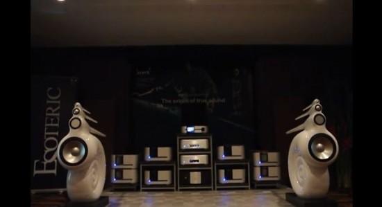 Sistema B&W Nautilus & Classè Super Hi-End System @ BAV Show 2013