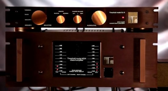 elettroniche Threshold 400a sl10