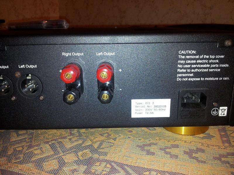 foto 5 Electrocompaniet ECI 3 morsetti casse