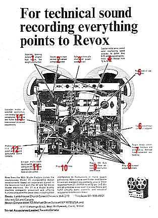Revox a 77 A77-Technical