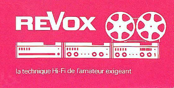 Revox a 77 LogoA77