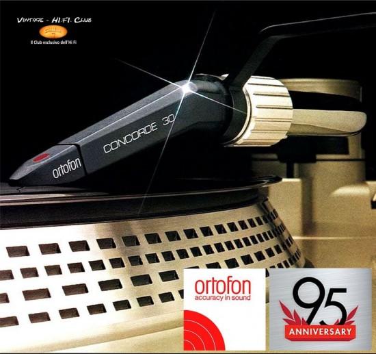 Ortopon Ortofon Concorde apertura con logo