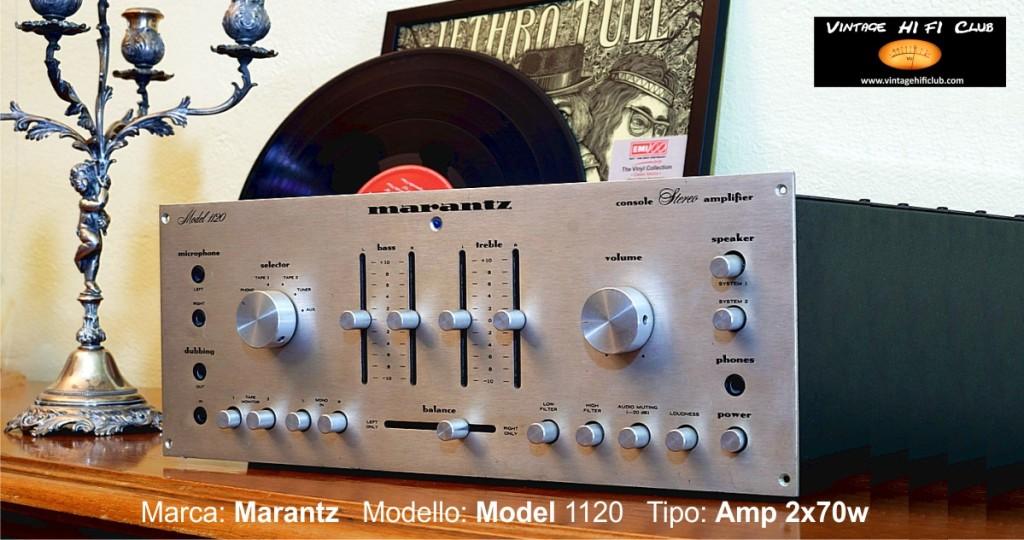 Vintage shop manifesto Marantz 1120 1