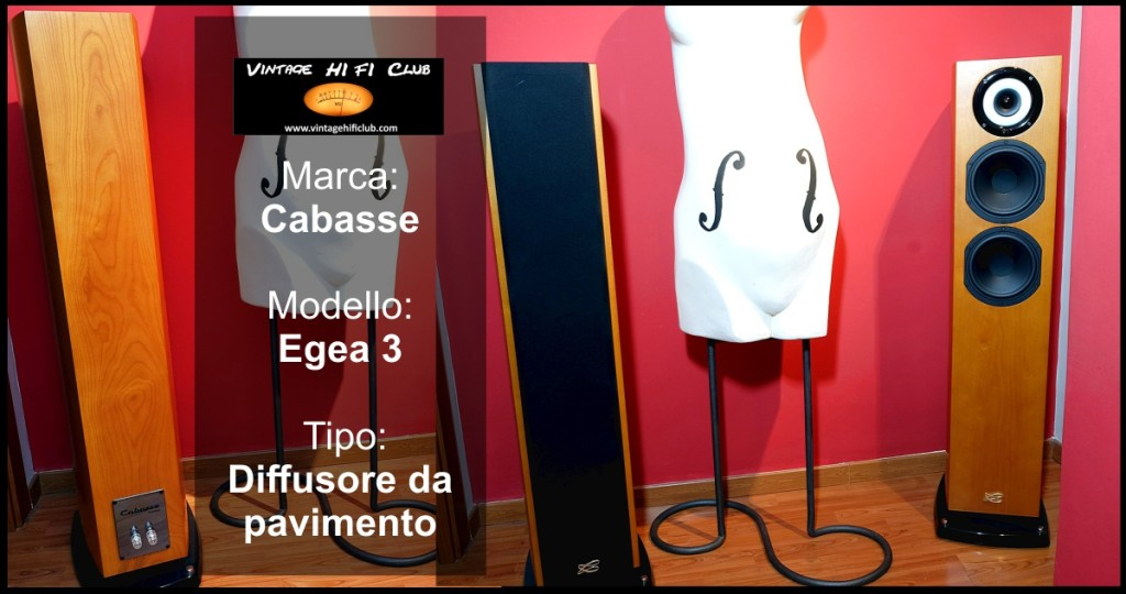 Vintage shop manifesto oggetti Cabasse egea 3