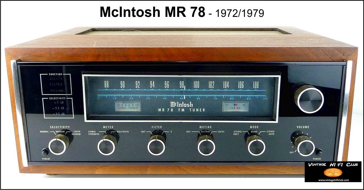vintage tuner 5 McIntosh MR78 1200pix web