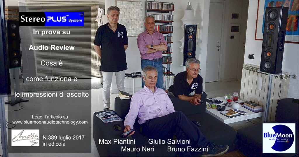 Salvioni Audio Review manifesto fb condivisioni con nomi