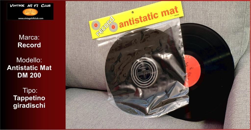 Vintage shop manifesto atistatic mat
