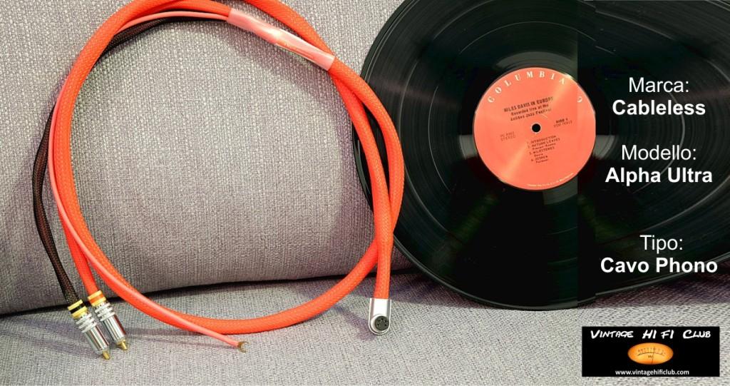 Vintage shop manifesto cableless phono